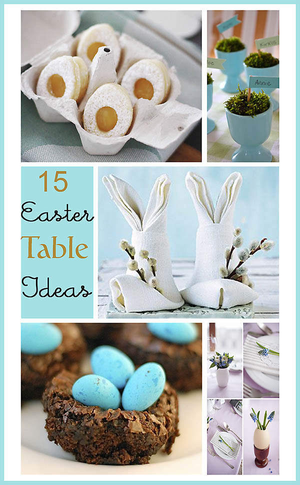 15 Easter Table Ideas
