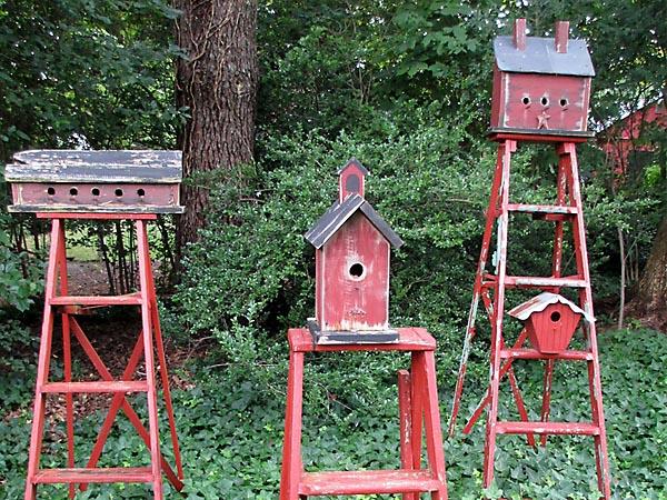 Birdhouse Ladders