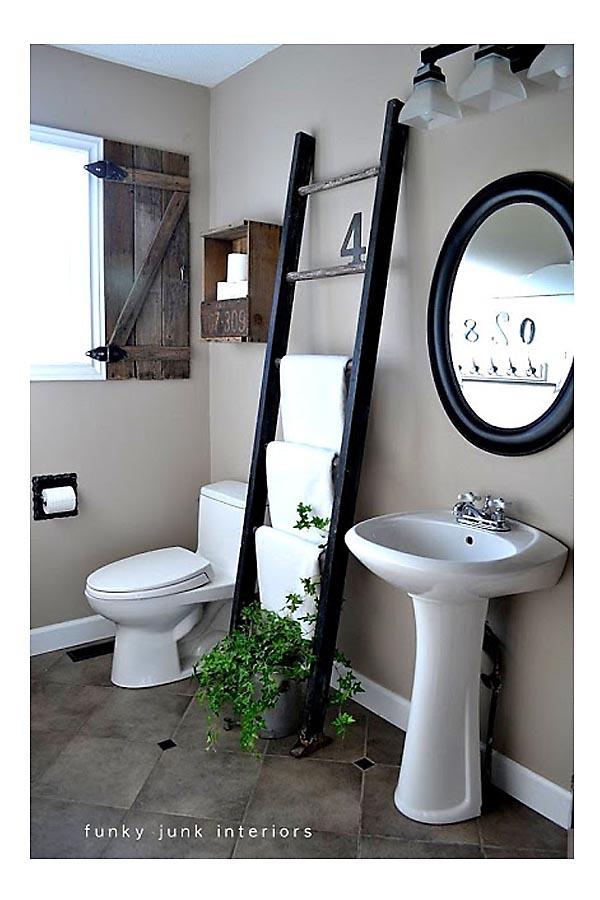 Towel Holder Ladder