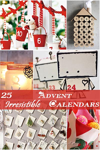 Ideas For Advent Calendar Netmums : Irresistible advent calendar ideas