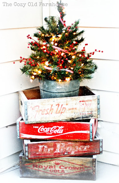 Junky Christmas Porch