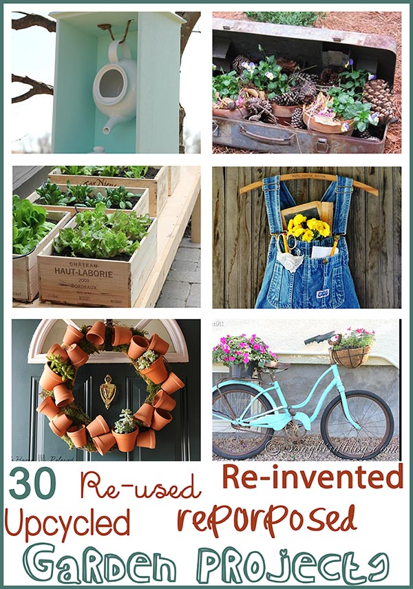 Junk Filled Garden Ideas