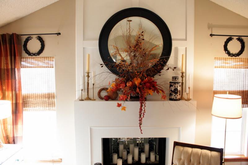 Fabulous fall mantel ideas