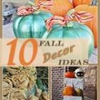 10 Fall Decor Inspirations thumb
