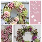 15 Natural Fall Wreaths thumb