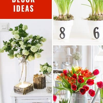 spring decorating ideas that are easy and fun