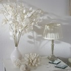 Songbird white decoration 1