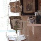 Baskets in craftroom
