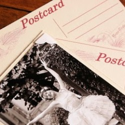 Making postcards with free vintage photographs