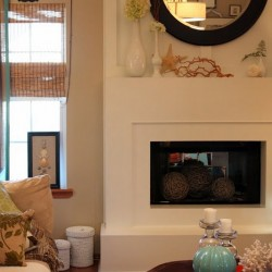 Sweet Something Designs: The Fireplace Facelift