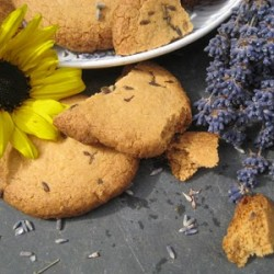 Lavender biscuits recipe.