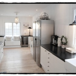 Kitchen Inspriration from Scandinavia: My Shabby chic house