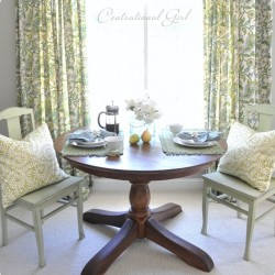 From @CentsationalGrl » How to Restain A Wood Table Top