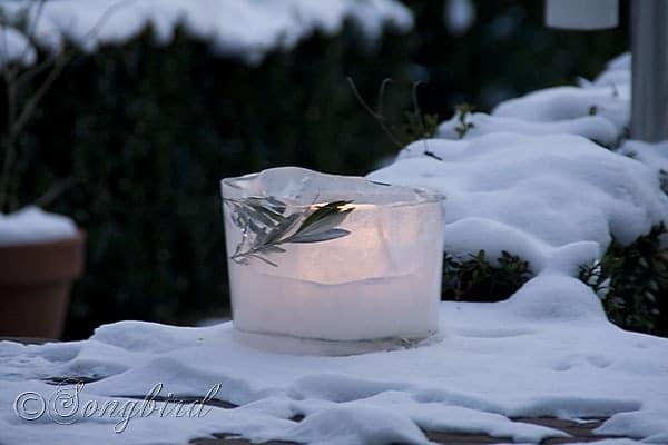 Songbird Ice Lantern 1