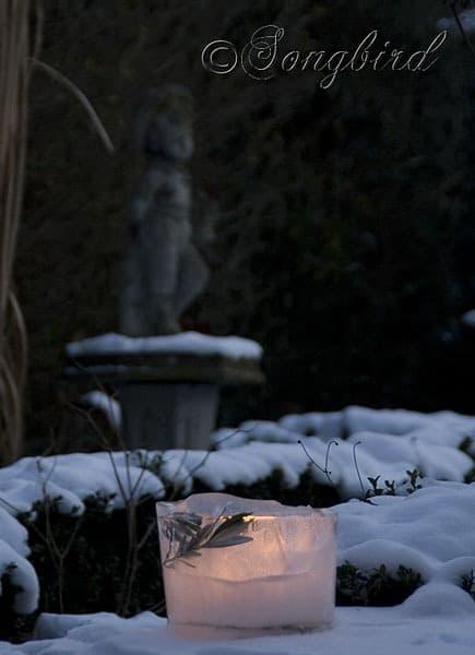Songbird Ice Lantern 2