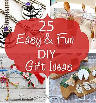 25 easy and fun DIY gift ideas thumb