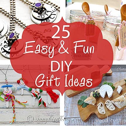25 easy and fun DIY gift ideas thumb