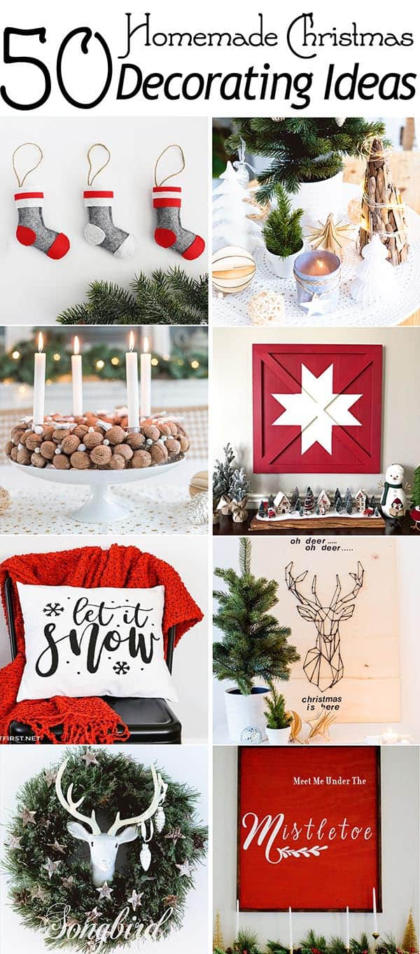 collage image christmas decorating ideas