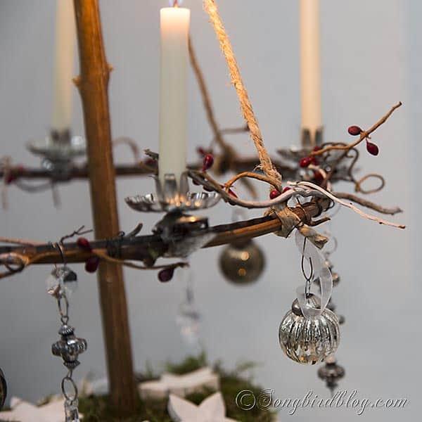 four candles advent wreath christmas decoration. Black Bedroom Furniture Sets. Home Design Ideas