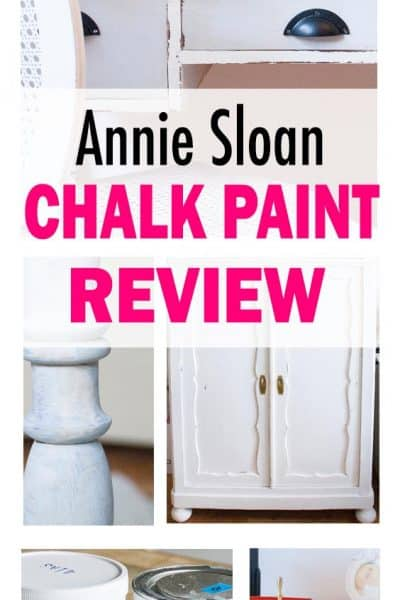 collage image chalk paint review