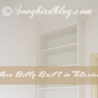how to turn bookcase into built-in