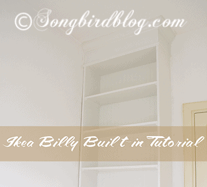 How To Give An Ikea Billy Bookcase A Built In Look Full