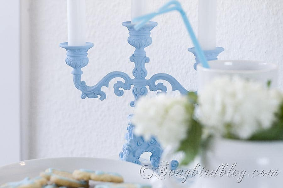 Blue Candle Stick 3
