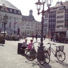 market square in Bonn Germany via Songbirdblog
