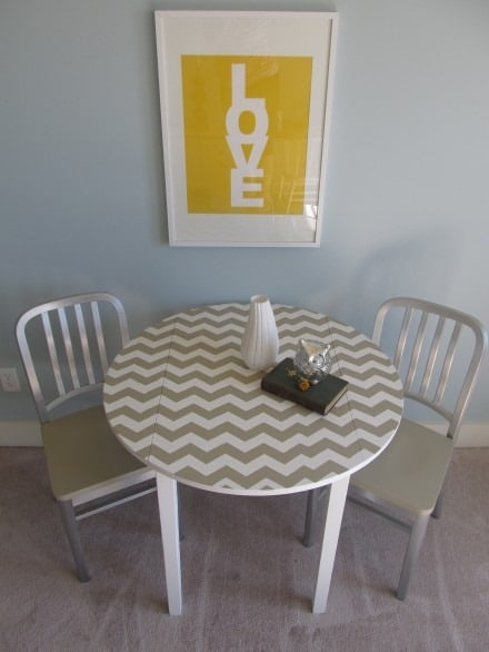 Chevron table by House to your Home
