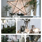 christmas decorations natural and cheap via Songbird blog