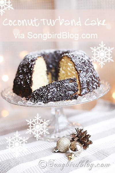 Christmas coconut cake via SongbirdBlog 7