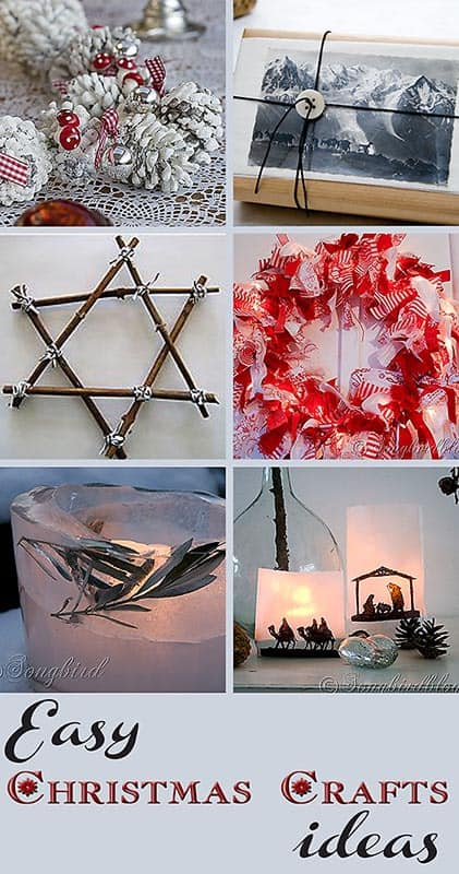 Easy and simple christmas craft ideas for Pinterest simple christmas crafts