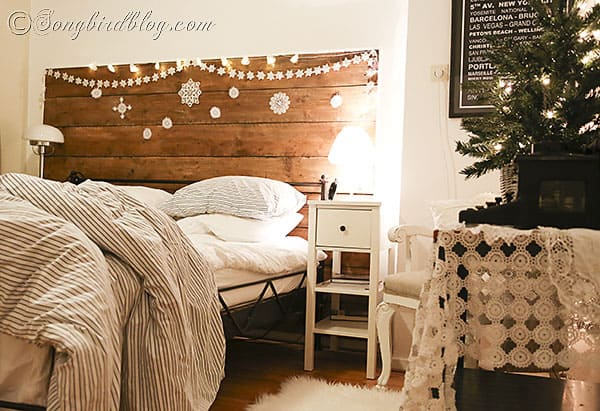 Christmas Decorations To Make For Your Bedroom : Christmas home tour