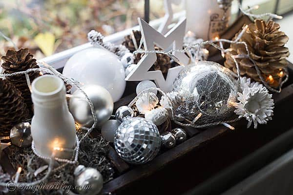 How to create easy Christmas decorations. Songbirdblog.com