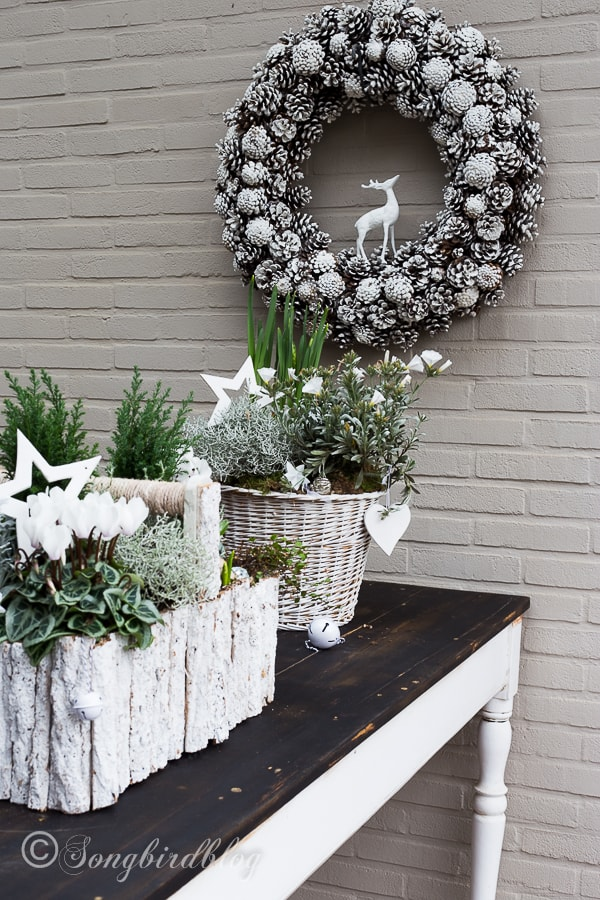 Outdoor Christmas Table Decoration Ideas : Outdoor christmas table decorations home design