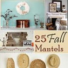 25 Fabulous Fall Mantel Ideas http://www.songbirdblog.com