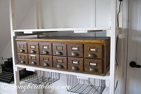 Storage For Craft Room: Industrial Style Storage In Craft Room