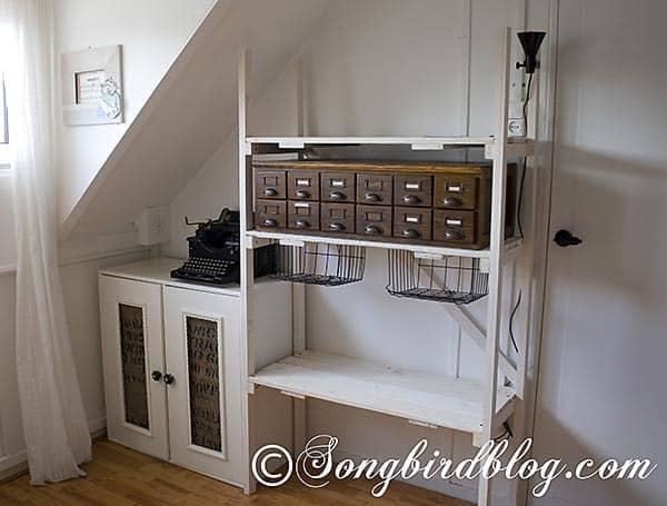 Craft Room Storage Unit 3 & Industrial style storage in craft room