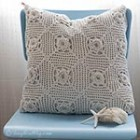Crochet Handmade Pillow cover 8 thumb