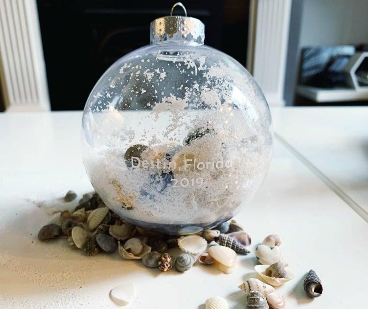 souvenir Christmas ornament diy