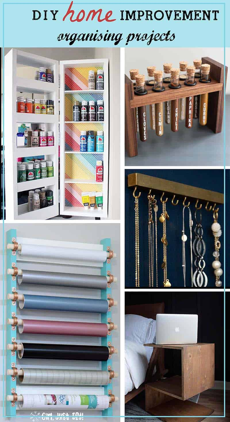 Best Of DIY Home Improvement Organizing Projects