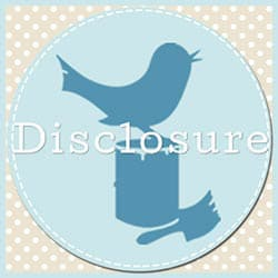 Disclosure button