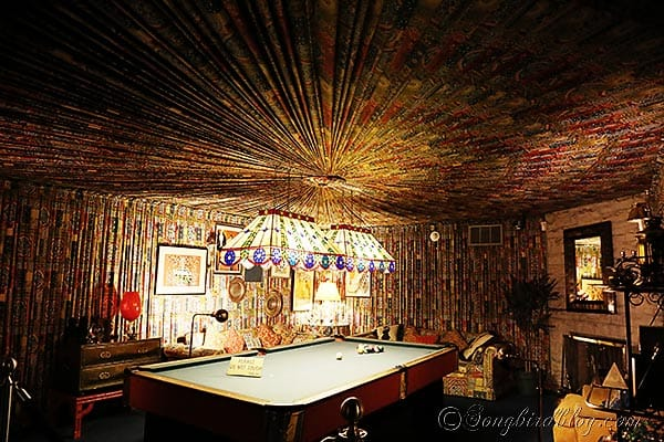 Elvis Presley Graceland game room