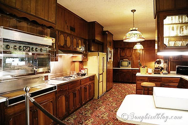 Elvis Presley Graceland kitchen