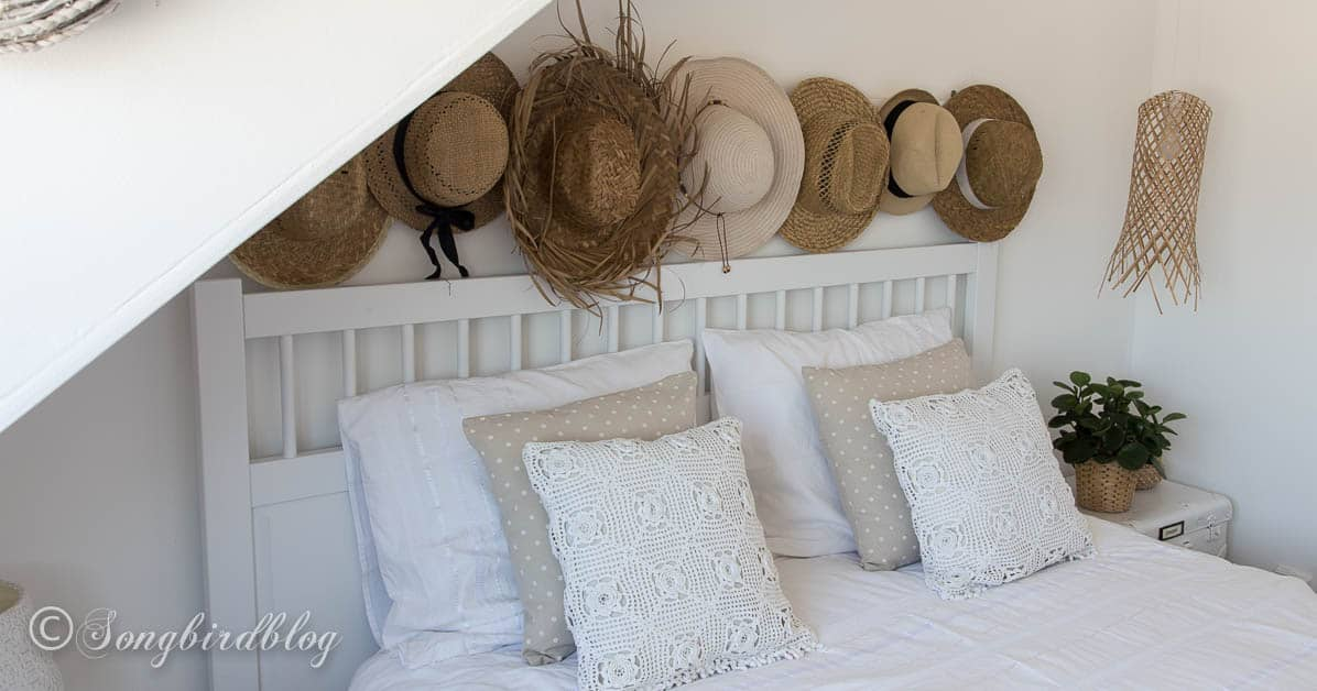 White Boho Bedroom With A Beachy Vibe
