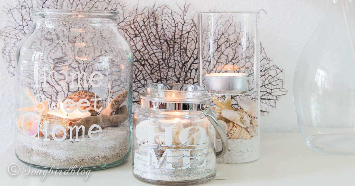 Summer beach lanterns A lovely and easy