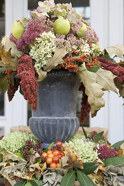 table center piece Fall autumn decoration
