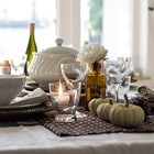 Fall Polkadot Table Setting Thumbnail