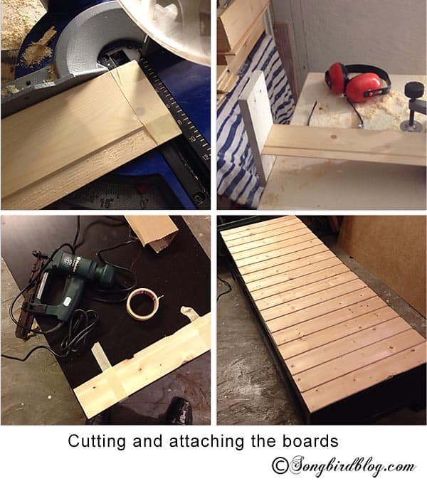 Furniture project Ikea Lack tv stand makeover hack how to tutorial songbirdblog