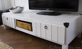 IKEA Hack Furniture Project {tv stand makeover}